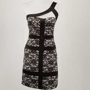 XOXO black and white semi-formal / cocktail dress